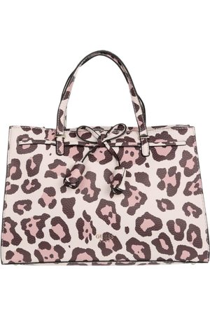 Bolsa satchel animal print Guess