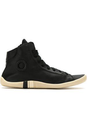 OSKLEN Mujer Tenis - Leather hi-top sneakers