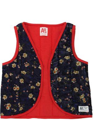 American Outfitters Chaleco Estilo Kimono De Terciopelo