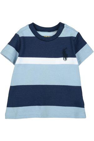 Playera a rayas Polo Ralph Lauren algodón para bebé