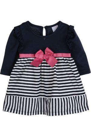 Vestido a rayas Fiorella algodón para bebé