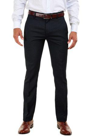 Pantalón de vestir a rayas JBE corte slim fit