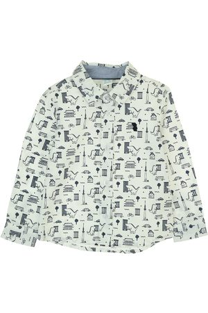 Bebé Camisas - Camisa con diseño gráfico Bolo de algodón para bebé