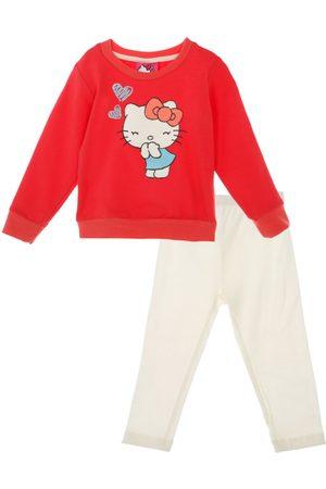 Conjunto liso Hello Kitty algodón para niña