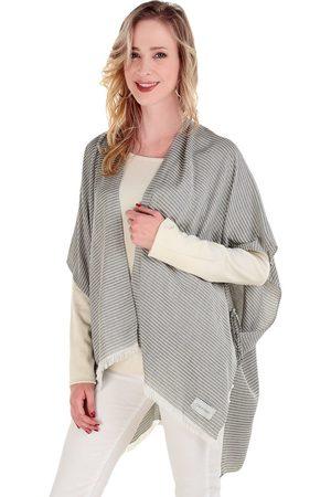 Mujer Ponchos y capas - Capa a rayas Calvin Klein