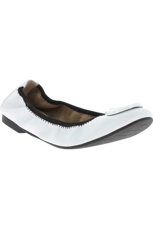 Mujer Flats - Balerina lisa Westies blanca