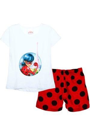 Pijama Lady Bug algodón para niña