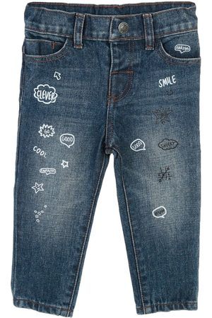 Jeans Mon Caramel corte straight para bebé