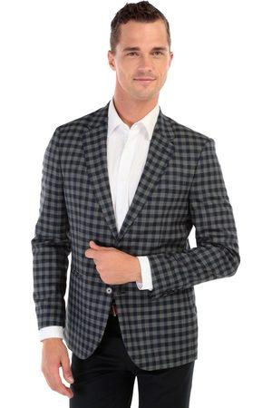 Saco sport a cuadros Karl Lagerfeld corte regular fit lana