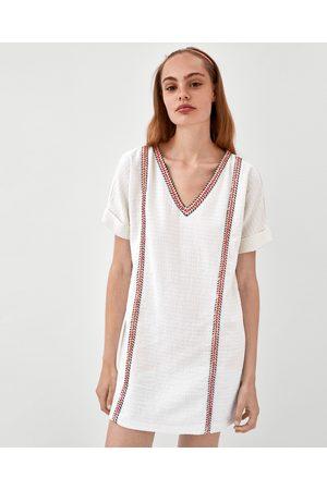 Zara Blancos Ahora ¡compara Y Vestidos Mujer Cortos De Compra OZTPiukwXl