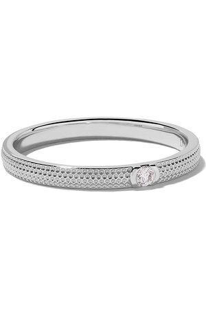 De Beers Anillo Azulea One-Diamond en oro blanco 18kt