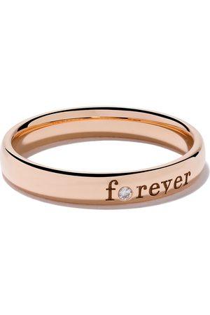 De Beers Anillo Forever con diamantes en oro rosa 18kt