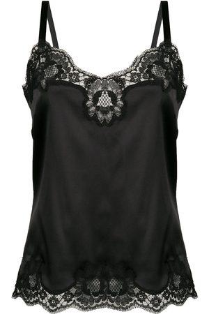 Dolce & Gabbana Top con tirantes y ribetes