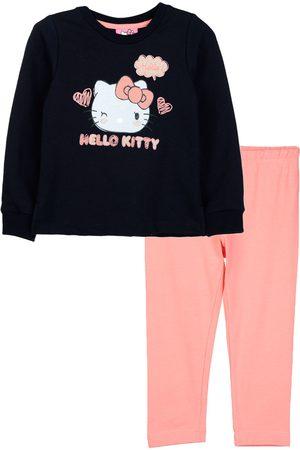 Conjunto Hello Kitty algodón para niña
