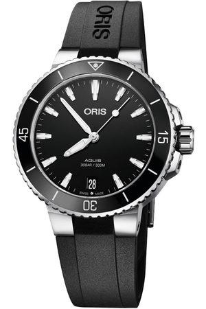 Reloj para dama Oris Aquis 733 77314154 -07 4 18 64FC negro