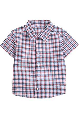 Camisa a cuadros Medio Limóne algodón para bebé