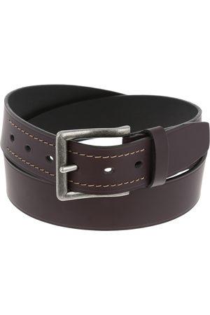 Cinturón JBE piel café oscuro