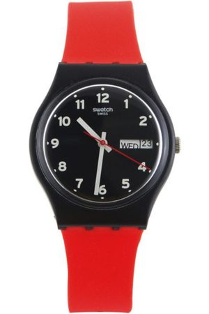Swatch Red Grin GB754 Reloj para Niño Color Rojo