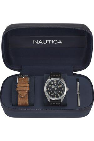 Box set de reloj para caballero Nautica Battery Park NAPBTP006