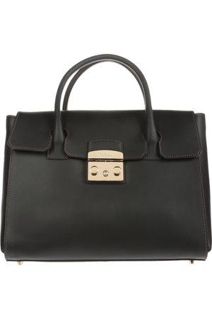 Bolsa satchel lisa Furla piel negra