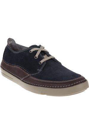 Zapato derby Clarks gamuza