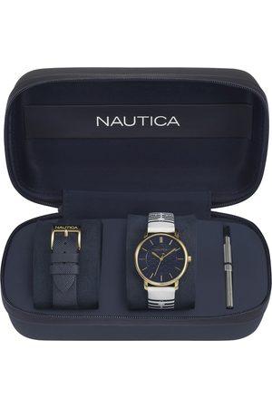 Box set de reloj para dama Nautica Coral Gables NAPCGS008