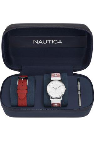 Box set de reloj para dama Nautica Coral Gables NAPCGS007