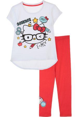 Conjunto Hello Kitty de algodón para niña