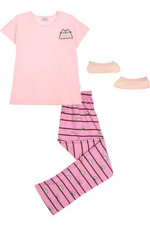 Pijama Pusheen algodón para niña