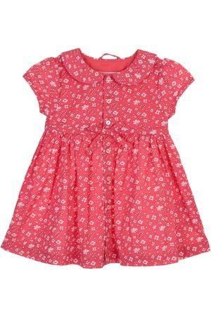 Vestido floral Mon Caramel de algodón para bebé