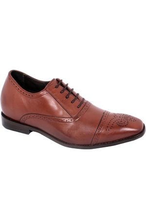 Zapato oxford Max Denegri piel + 7 cm