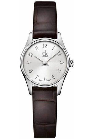 Calvin Klein Classic K4D231G6 Reloj para Dama Color Café