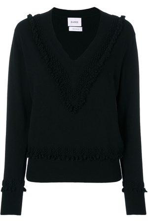 Barrie Suéter con cuello en V con texturas