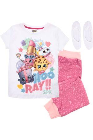 Pijama Shopkins algodón para niña