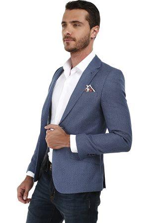 Tienda moda Sacos de hombre color azul ¡Compara ahora y compra al ... 3e728113bb0