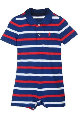 Jumpsuit a rayas Polo Ralph Lauren algodón para bebé