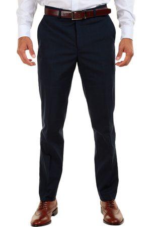 Pantalón de vestir a cuadros Calvin Klein corte slim fit
