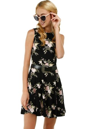 Vestido floral Tattoo