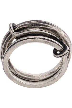 WERKSTATT:MÜNCHEN Anillos - Double band ring
