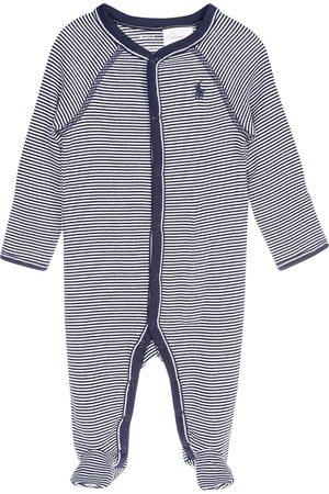 Mameluco a rayas Polo Ralph Lauren de algodón para niño