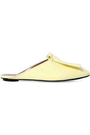 Marni Zapatos Mules De Charol 10mm