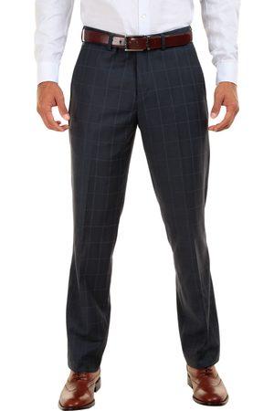 Pantalón de vestir a cuadros JBE corte slim fit