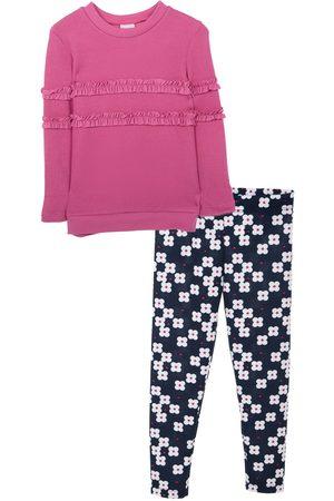 Conjunto Fiorella algodón para niña