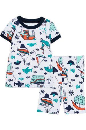 Pijama con diseño gráfico Gymboree algodón para niño