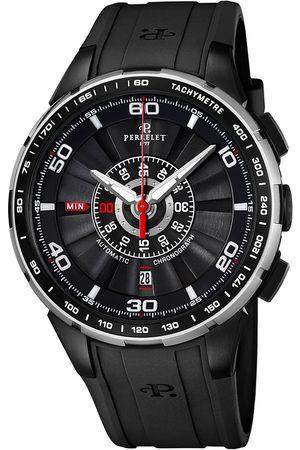 Reloj unisex Perrelet Turbine Chrono A1075/3 negro