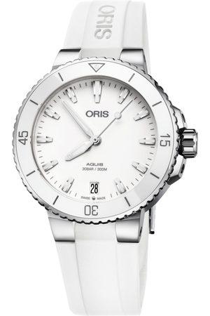 Reloj para dama Oris Aquis 73377314151-0741863FC blanco