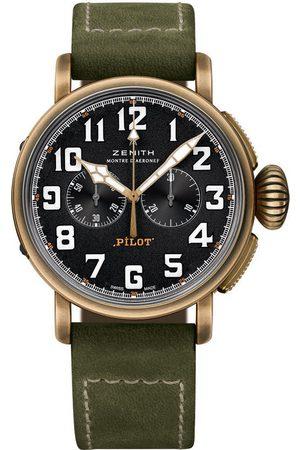 Reloj para caballero Zenith Pilot 29.2430.4069/21.C800 verde militar