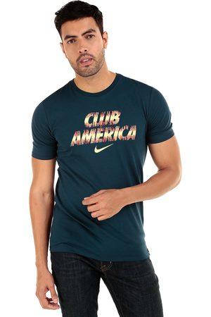 Playera Nike Club América algodón fútbol para caballero