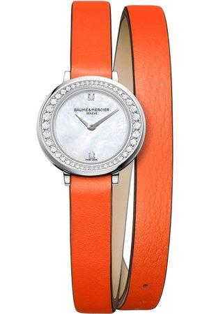 Reloj para dama Baume & Mercier Promesse M0A10290 naranja
