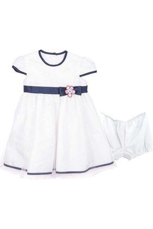 Vestido liso Jessy Franz para bebé